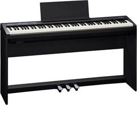Piano Digital Roland FP-30 com Estante KSC-70 e Pedalboard KPD-70 Roland - Preto (BK)