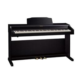 Piano Digital Roland RP-501 com Banco - Preto (Contemporary Black) (CB)