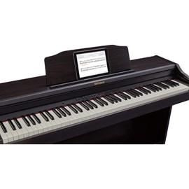 Piano Digital Roland RP501R com Banco Roland - Marrom (Contemporary Rosewood) (CR)