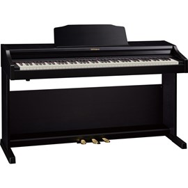 Piano Digital RP 501 CR com banco Roland - Marrom (Contemporary Rosewood) (CR)
