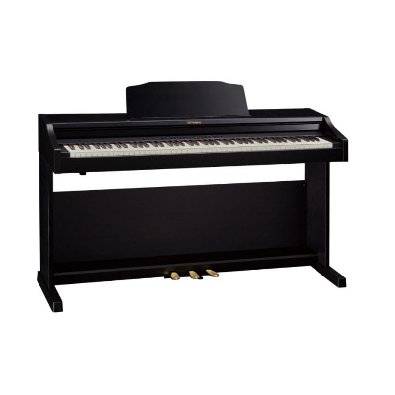 Piano Digital RP 501R com 88 Teclas - com banco Roland - Preto (Contemporary Black) (CB)