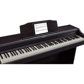 Piano Digital RP501 CR com banco Roland - Marrom (Contemporary Rosewood) (CR)