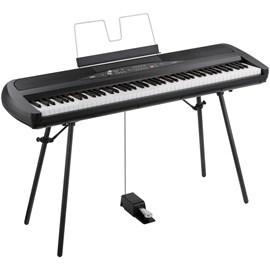 Piano Digital Sp-280 com Suporte Incluso Korg - Preto (BK)
