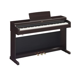Piano digital YDP-164R com fonte original e banco Yamaha - Marrom (Dark Rosewood) (DR)
