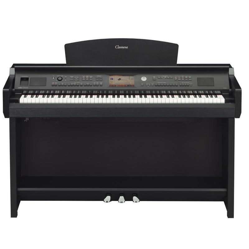 Piano Yamaha Clavinova Cvp-705b Yamaha - Preto (Black Walnut) (BW)