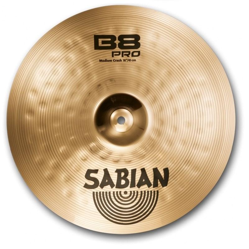 """Prato 16"""" B8 Pro Medium Crash 1608 Sabian"""