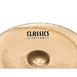 "Prato China 16"" Poloegadas Meinl Classics Custom CC16CH-B Meinl"