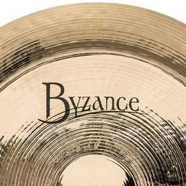 "Prato China 18"" Polegadas Byzance Brillant B18ch-b Brinde Relógio Neon Clock Meinl"