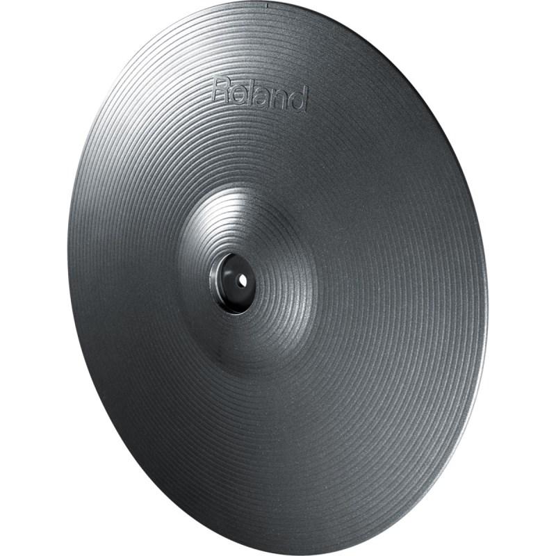 Prato Roland CY-15 V-Cymbal Pad de Condução para Bateria Eletrônica Roland