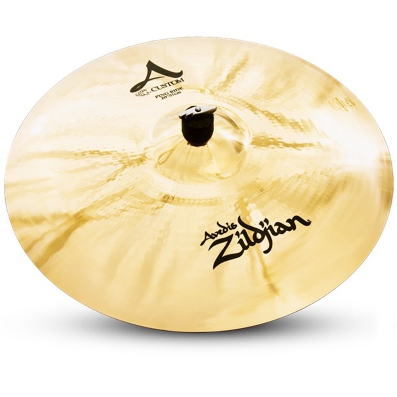 """Prato Zildjian a Custom 20"""" A20522 Ping Ride Zildjian"""