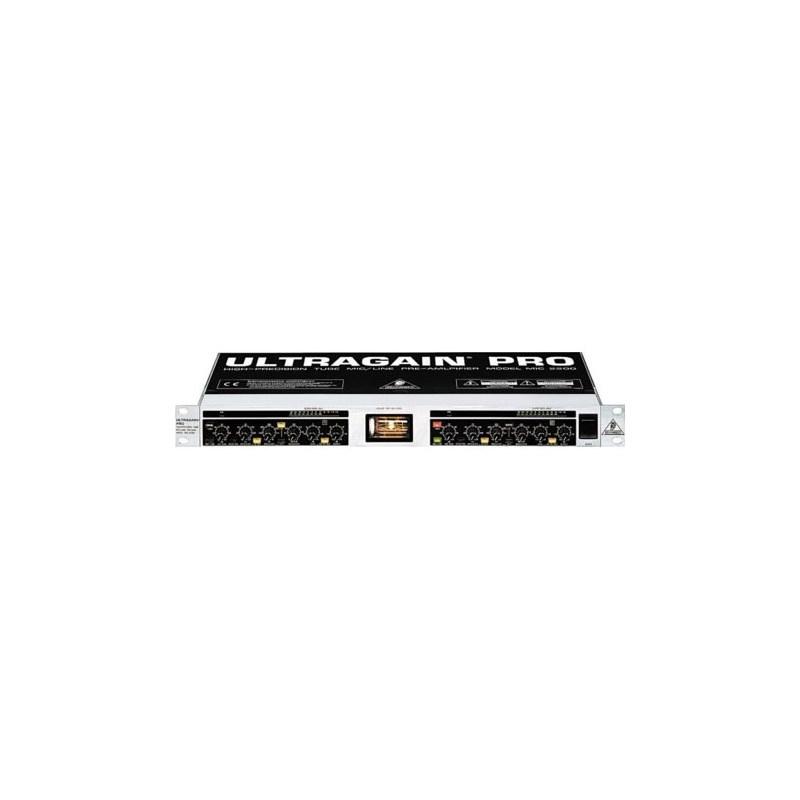 Pré-amplificador Behringer Mic2200 Ultragain Pro 2 Canais Behringer