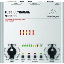 Pré Amplificador MIC 100 Tube Ultragain Valvulado Behringer