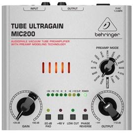 Pré Amplificador MIC 200 Tube Ultragain Valvulado Behringer