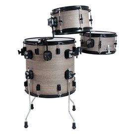 "PUB Vertical Drum Bateria Compacta  16"", 12"" 10"" Coated Luen"