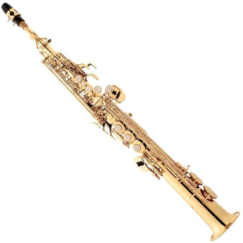 Saxofone Eagle Soprano Eagle Sp 502 - Laqueado Eagle