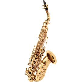 Saxofone Soprano Curvo Eagle Sp 508 Eagle