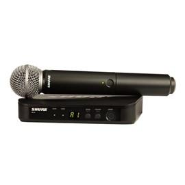 Sistema Sem Fio BLX24 com Microfone SM58 Frequência M15 Shure