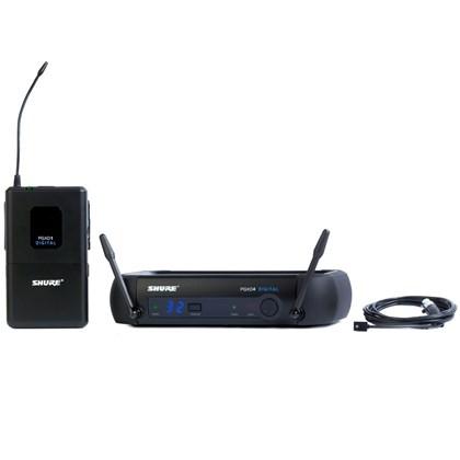 Sistema Sem Fio PGXD14 com Microfone Lapela WL93 Shure