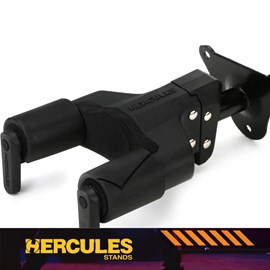 Suporte de Parede Hercules GSP39 WB para Contrabaixo Guitarra e Violão Hercules