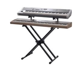 Suporte Duplo para  Instrumentos Teclas Pianos Digitais Bx2 Ibox