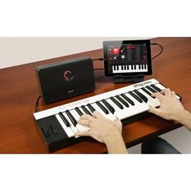 Teclado Controlador Midi Irig Keys Pro 37 Teclas Grandes PC, MAC, IOS e Android IK Multimedia