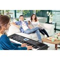 Teclado Roland BK-3 Backing Keyboard com 61 Teclas Roland - Preto (BK)
