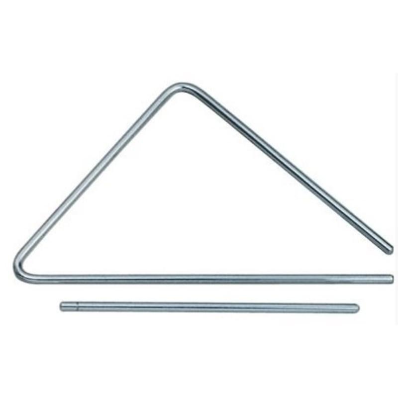 Triângulo de Aço  25cm Torelli