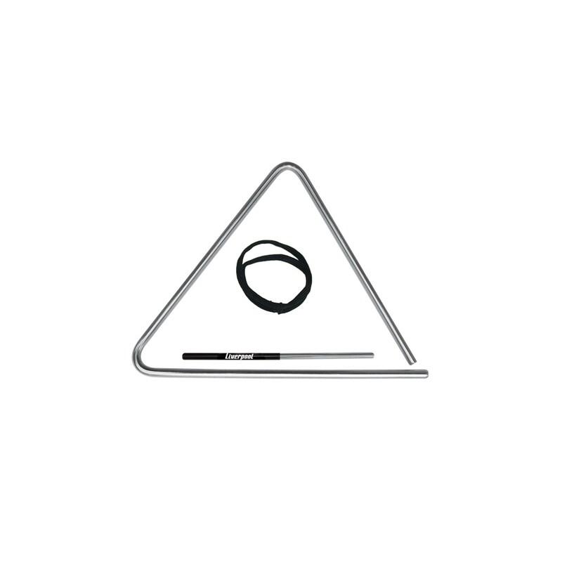 Triângulo de Aço Cromado 20cm Tr20 Liverpool