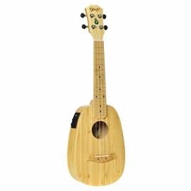 Ukulele Bali Elétrico Pineapplae Concert Solid Bamboo Seizi