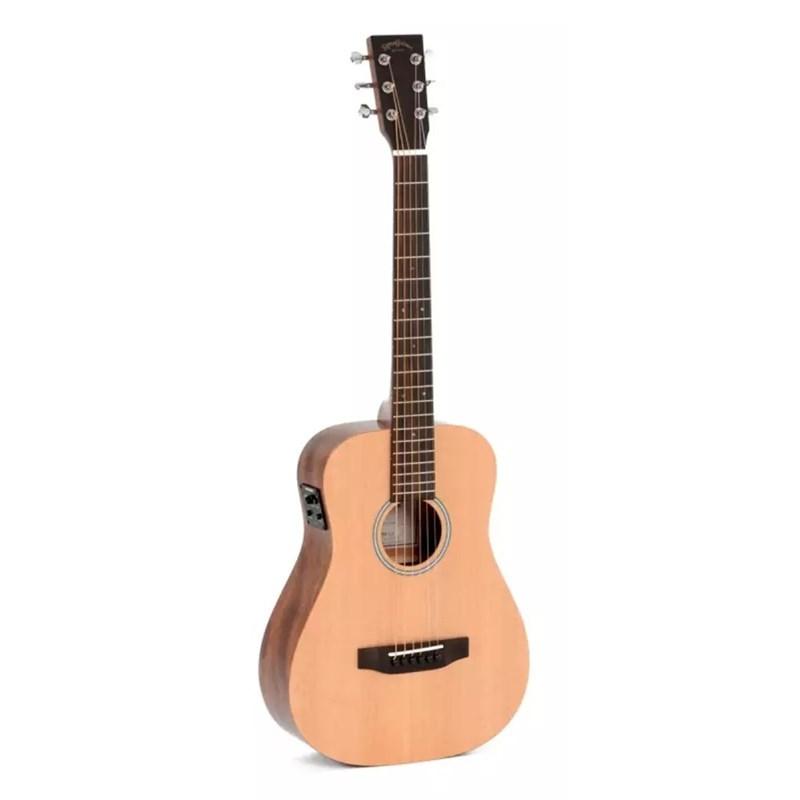 Violão Aço Travel Guitar TM 12E Eletroacústico com Capa Sigma