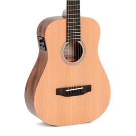 Violão Aço Travel Guitar TM12 E Eletroacústico com Capa Sigma