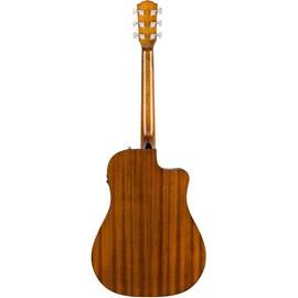 Violão Canhoto Eletroacústico CD 60 SCE Dreadnought - Natural Walnut Fender - Natural (21)