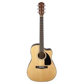 Violão Dreadnough Aço CD 60 CE Folk com Case Fender - Natural (21)