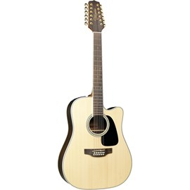 Violão Dreadnought GD51CE com 12 Cordas Takamine - Natural (Natural Satin) (NS)