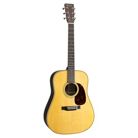 Violão Dreadnought HD28 com Case e Captação Fishman Martin