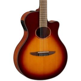 Violão Elétrico NTX1 BS Yamaha - Sunburst (Brown Sunburst) (BS)