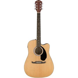Violão Eletroacústico Aço Folk FA 125CE Fender - Natural (21)