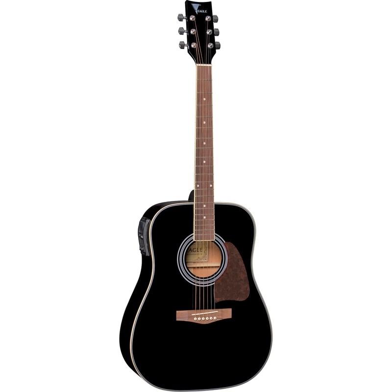 Violão Folk Ch-887 Eagle - Preto (BK)