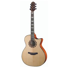Violão Grand Auditorium Cutway HG 520 CE Natural Crafter