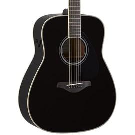 VIOLAO TRANSACOUSTIC FG-TA BL Yamaha - Preto (Black) (BL)