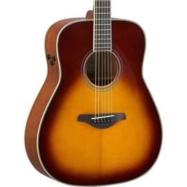 VIOLAO TRANSACOUSTIC FG-TA BS Yamaha - Sunburst (Brown Sunburst) (BS)