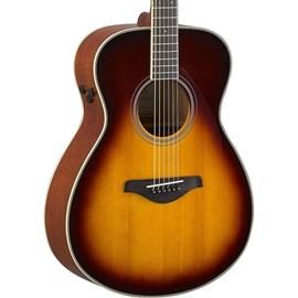 VIOLAO TRANSACOUSTIC FS-TA BS Yamaha - Sunburst (Brown Sunburst) (BS)