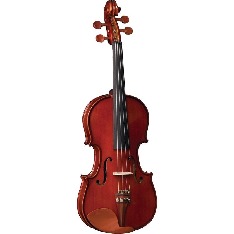 Violino 1/2 VE421 Envernizado com Case Eagle