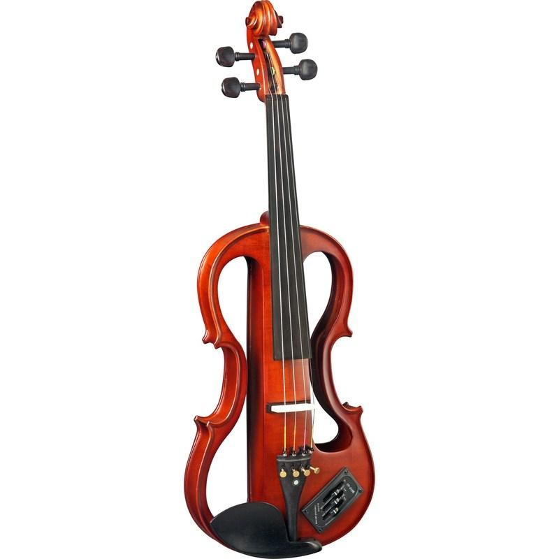 Violino 4/4 EVK744 Elétrico com Case Térmico Eagle